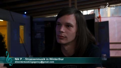 Nik P. - Interview über Strassenmusik in Winterthur