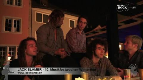 Jack Slamer - Interview an den 40. Musikfestwochen Winterthur
