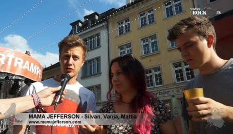Mama Jefferson - Interview an den 42.Musikfestwochen