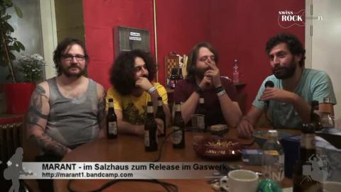 Marant - Infos zur High Octane Diesel Album-Taufe im Gaswerk