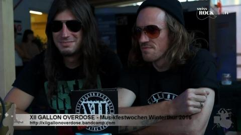 XII Gallon Overdose - Interview an den 41. Musikfestwochen