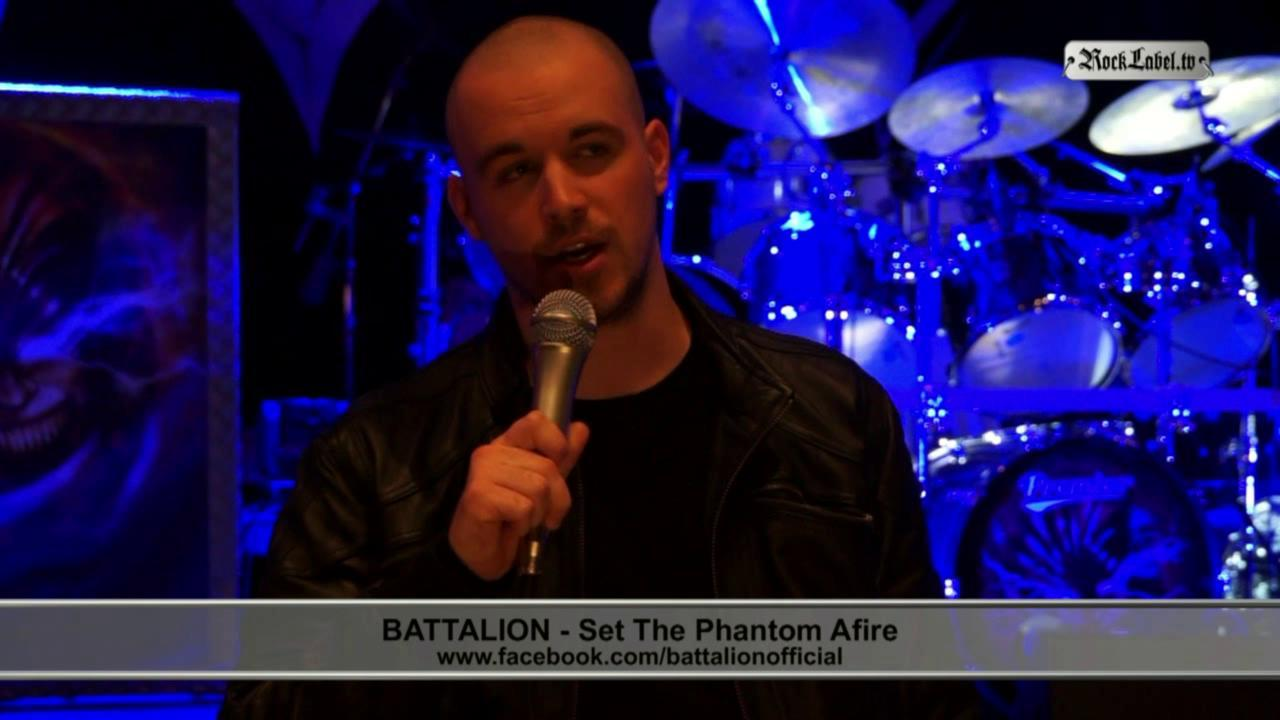 Battalion - about the album 'Set The Phantom Afire'