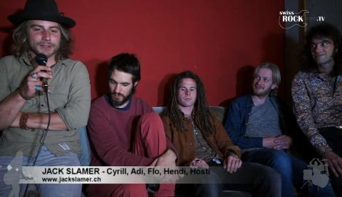 Jack Slamer - Interview an der Release-Party im Salzhaus