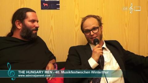 The Hungary Men - Interview den 40. Musikfestwochen
