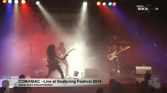 Comaniac - Live at Deafening Festival 2014