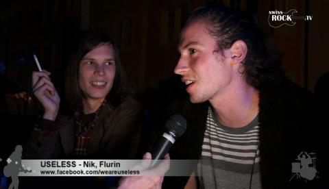 Useless - Interview an den 42. Winterthurer Musikfestwochen